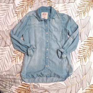 Super Soft Denim Button Down Shirt
